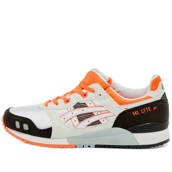 Mierda diario Imperialismo  Asics Gel Lyte III White & Flash Coral | END.