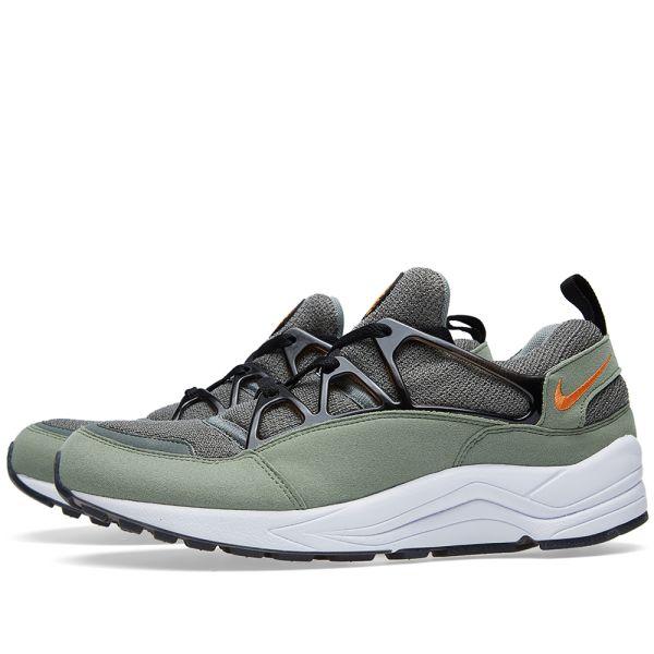 Nike Air Huarache Light Jade Stone, Clementine & Black | END.