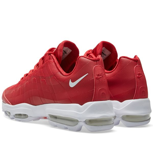 Nike Air Max 95 Ultra Essential in Gym Red 857910 600