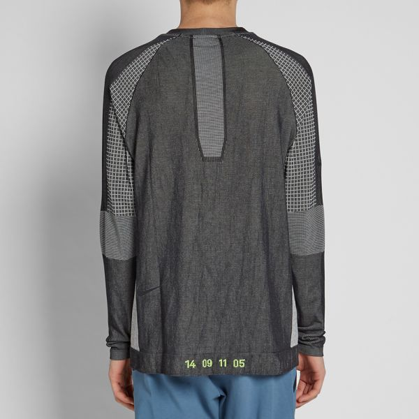 Nike Tech Pack T Shirt Black Summit White Total Orange