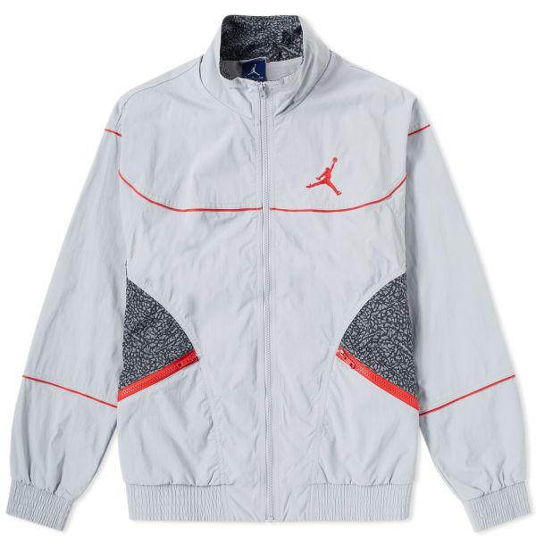 Jordan AJ 3 Woven Vault Jacket Wolf