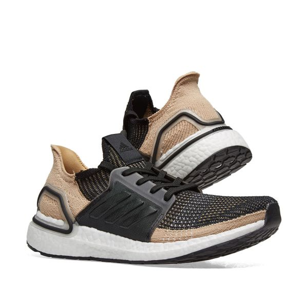 Adidas Ultra Boost 19 Core Black, Raw