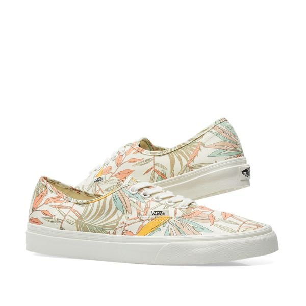 vans authentic floral