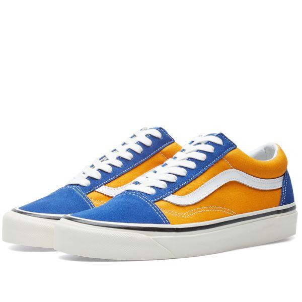Vans Old Skool 36 DX OG Blue \u0026 OG Gold