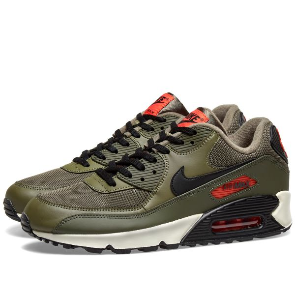 air max 90 olive black orange