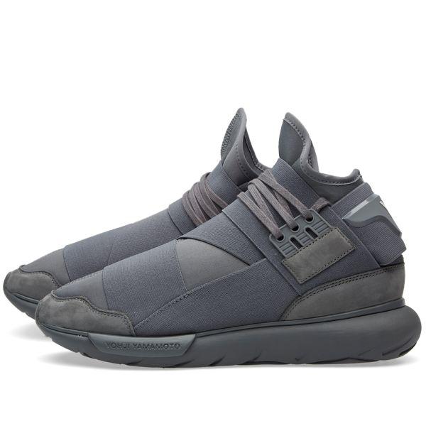 y3 qasa high grey The Adidas Sports