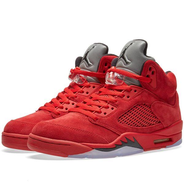 Nike jordan 21 red suede Sz 9.5