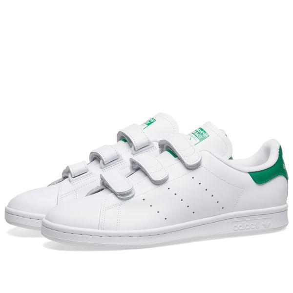 adidas Velcro Shoes for Men White Size 10 UK
