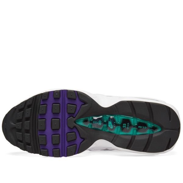 purple and turquoise air max 95