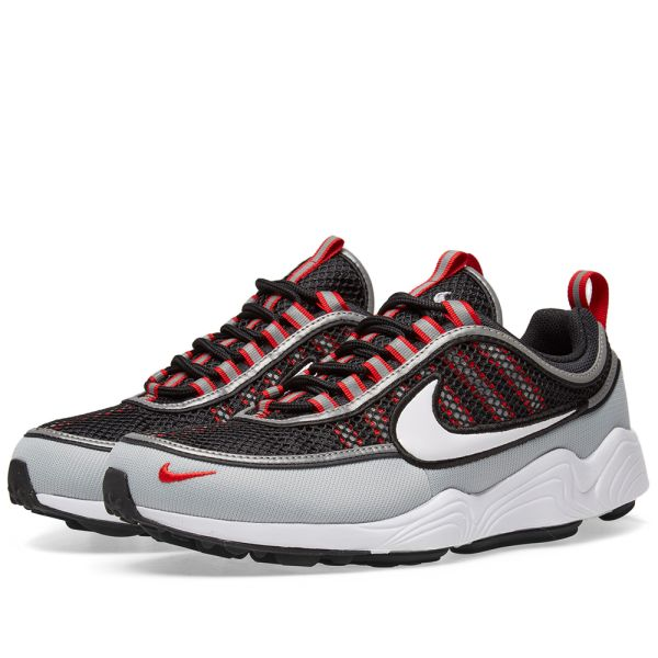 good texture on sale online shop Nike Air Zoom Spiridon '16 Black, White, Grey & Red | END.
