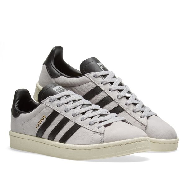 En detalle borde Expresión  Adidas Campus Grey Two & Core Black | END.