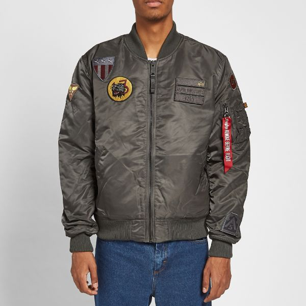 Alpha Industries MA 1 Air Force Jacket