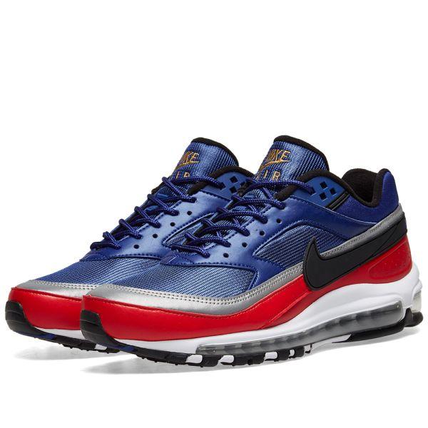 nike air max 97 bw red blue