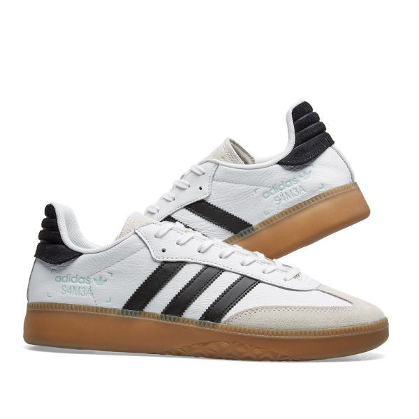 Adidas Samba RM White, Core Black