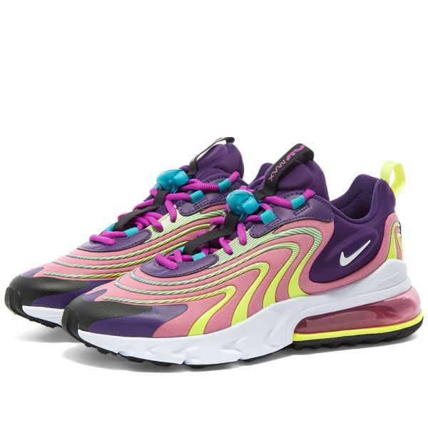 air max 270 react pink and purple