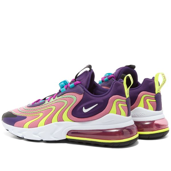Nike Air Max 270 React Eng W Eggplant Flamingo Purple End