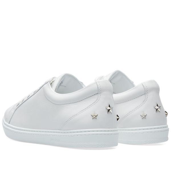 Jimmy Choo Cash Sneaker Ultra White
