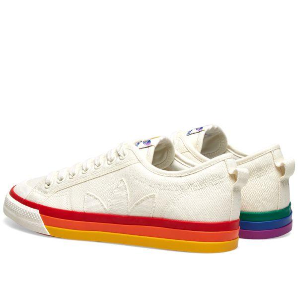 Adidas Nizza Pride Off White | END.