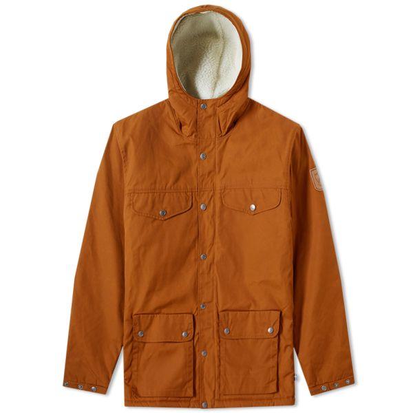FJÄLLRÄVEN Greenland Winter Parka Functional Jacket for Men Blue