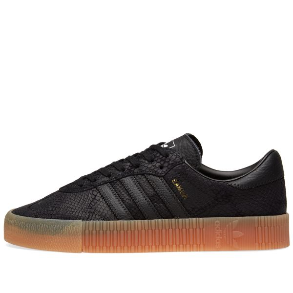 adidas samba rose trainers core black gum