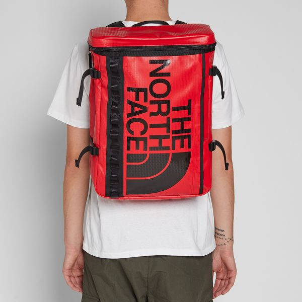 [SCHEMATICS_4FR]  The North Face Base Camp Fusebox Backpack Red | END. | Red Fuse Box |  | End
