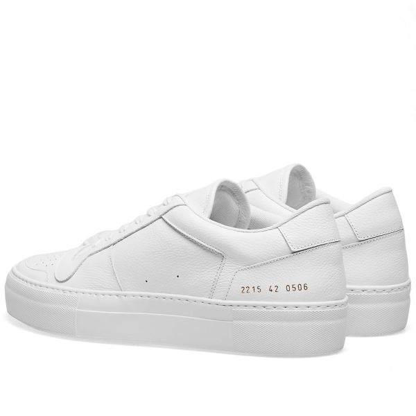 Common Projects Full Court Low White   END.