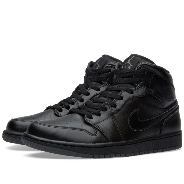 nike air jordan all black