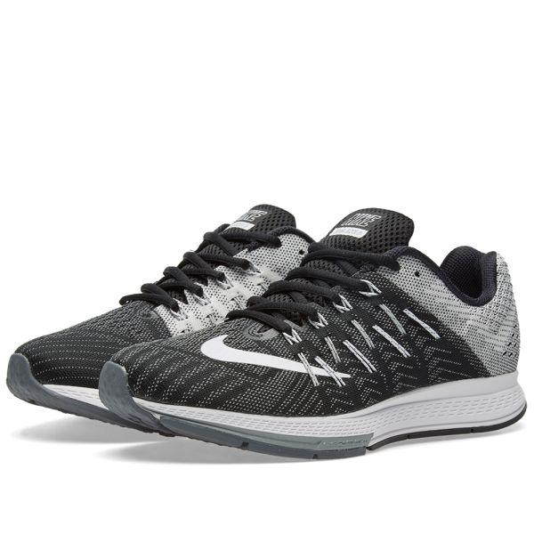exilio Auto doble  Nike Air Zoom Elite 8 Black, White & Wolf Grey | END.