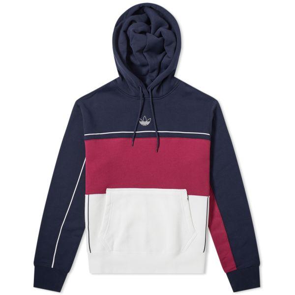 adidas label sweat hoodie