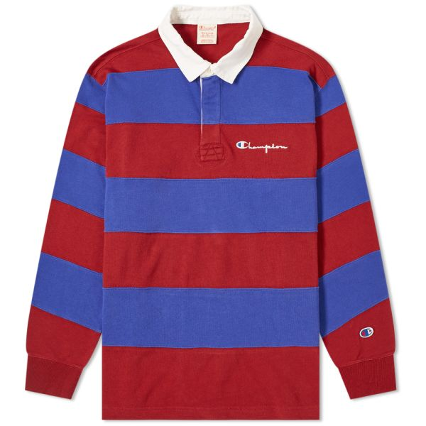 Champion Reverse Weave Striped Rugby
