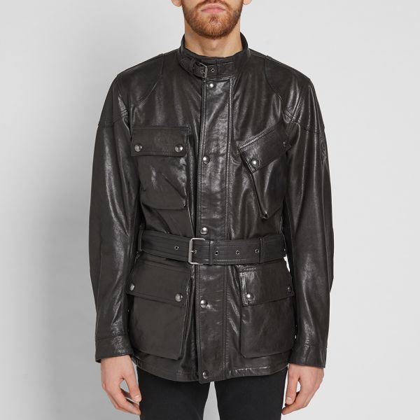 size 7 offer discounts undefeated x Belstaff Panther Leather Jacket