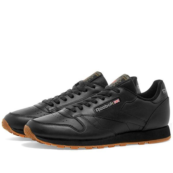black reebok classic shoes
