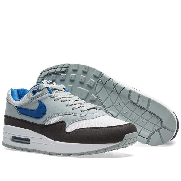 Nike Air Max 1 White Gym Blue Grey Black AH8145 102