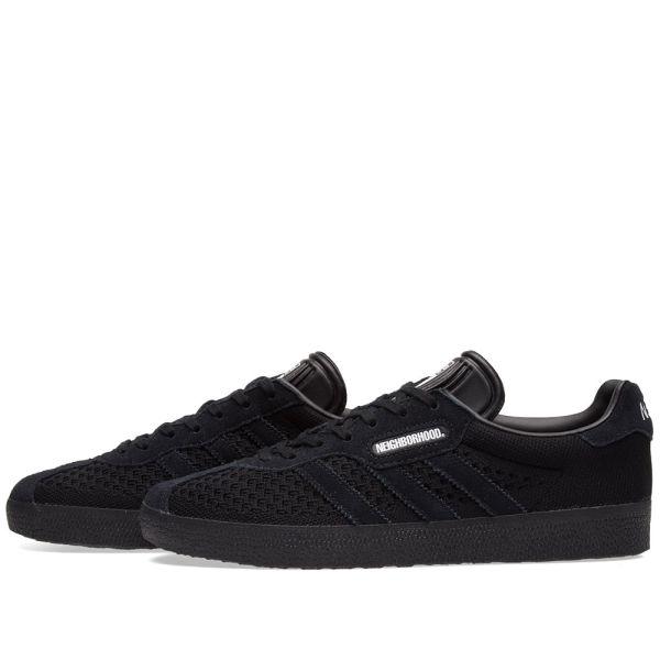 Adidas x NBHD Gazelle Super Black | END.