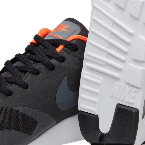 Nike Air Max Tavas Running Shoes Black Mens 11.5 705149 009 Mesh