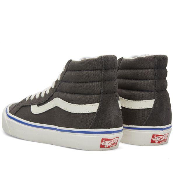 Vans OG Sk8 Hi LX Suede Canvas Raven   Soyoudeal shoes