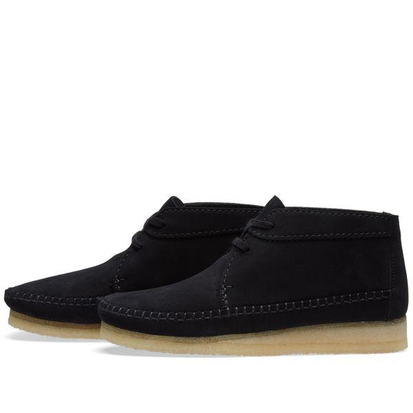 ropa Considerar constructor  Clarks Originals Weaver Boot Black Suede   END.