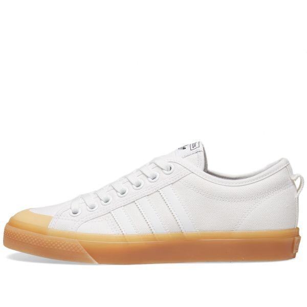 Adidas Nizza W White \u0026 Gum   END.