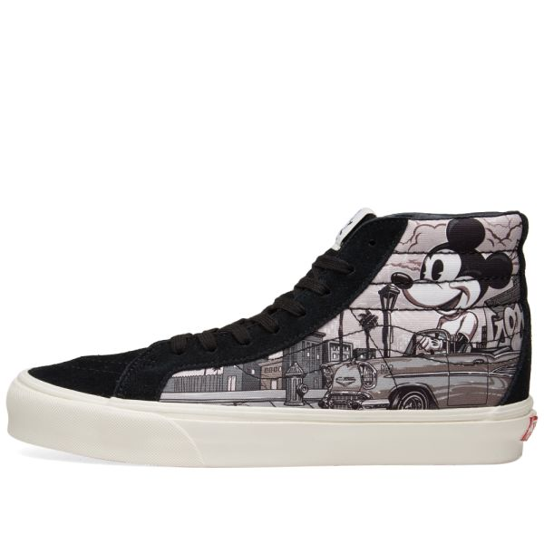 Vans Vault X Disney X Mr Cartoon Sk8 Hi Lx