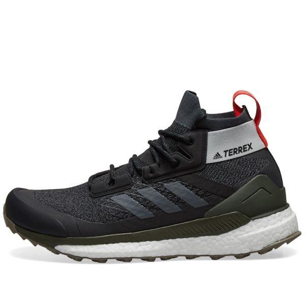 multa Depresión Amperio  Adidas Terrex Free Hiker Core Black, Grey & Night Cargo   END.