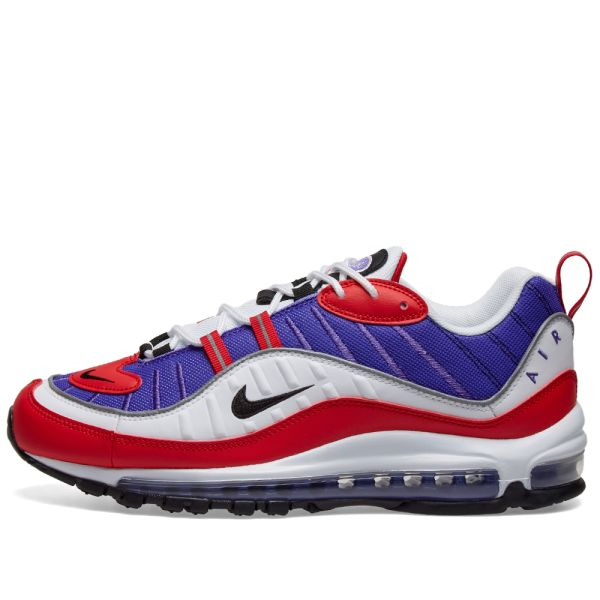 air max 98 blue and red