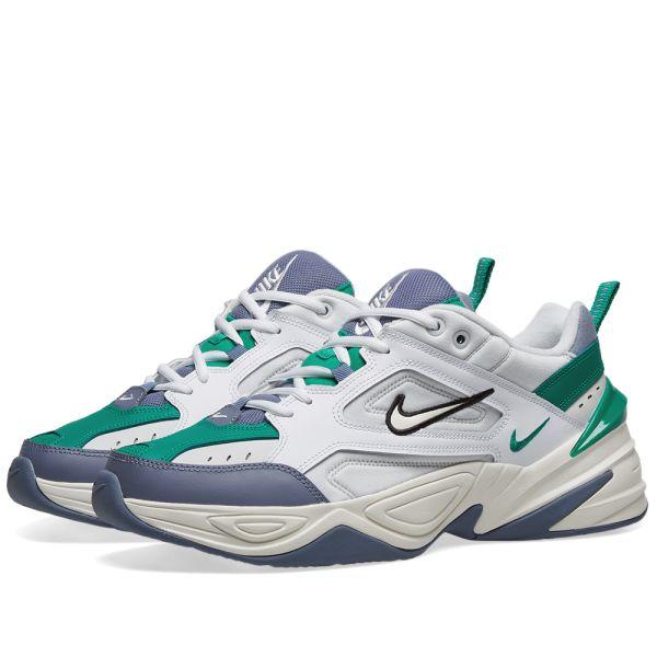 Nike M2K Tekno Platinum Tint, Sail \u0026 Green   END.