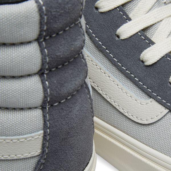 Vans OG Style 138 LX (Suede Canvas) Pearl Gray Multi | Footshop