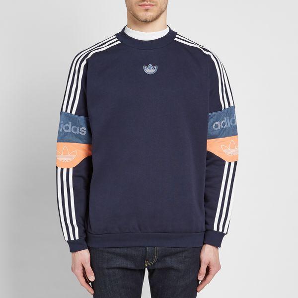 Retro Sweat Adidas Adidas Football Crew JTFK1cl3