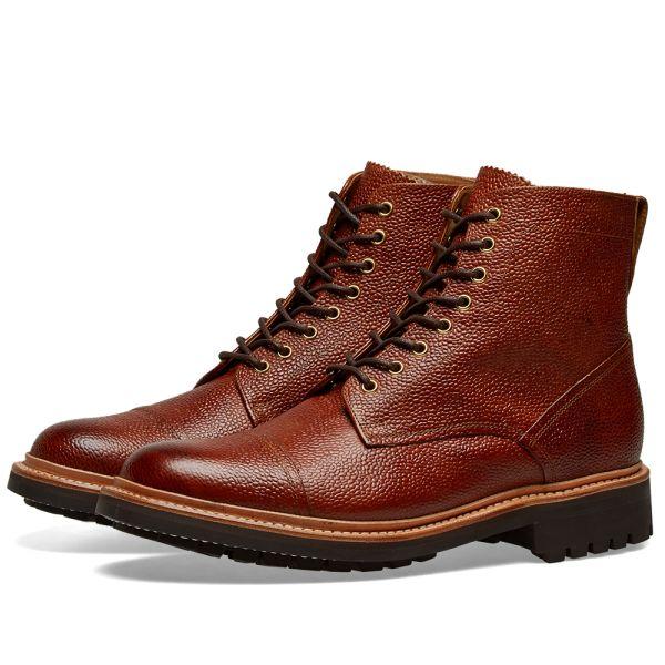 Grenson Joseph Boots Tan