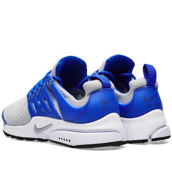 Nike Air Presto Essential Wolf Grey Wolf Grey Paramount Blue