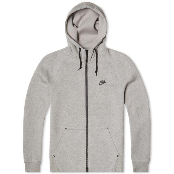 Nike TF Zip Up Hoodie 559592 064 Grey