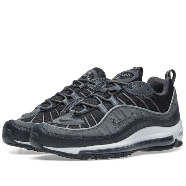 Nike Air Max 98 SE Black, Anthracite \u0026 White | END.