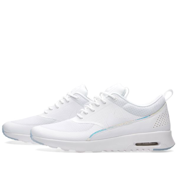 nike air max thea white iridescent