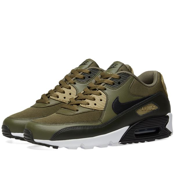 Nike Air Max 90 Essential in Medium Olive Black Sequoia